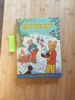 Rupert the Bear Annual 1974 Price Not Clipped
