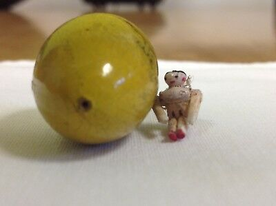 Wooden Doll In An Egg. (smallest Doll In The World )
