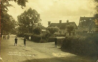 Millers Arch Walsham Le Willows Suffolk 1914 Rp Pc