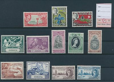 LH26819 Jamaica nice lot of good stamps MH