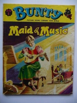 Rare Collectible Bunty Picture Story Library For Girls No.76, Maid of Music 1969
