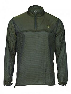 Vulpine Packable Disc Jacket Navy/green - M - Rrp £79.00