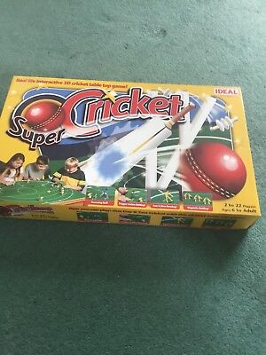 cricket table game for 2 to 4 players