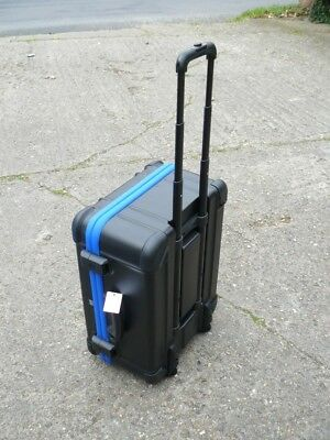 New Bwh Koffer Guardian Flight Case With Retractable Handle And Wheels One End