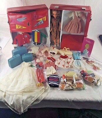 VINTAGE  Tammy Doll with Case, Clothes, and Accessories *See full Description*