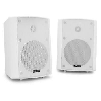Qtx Bc5A Pc Commercial Wall Mount Speakers 30W White