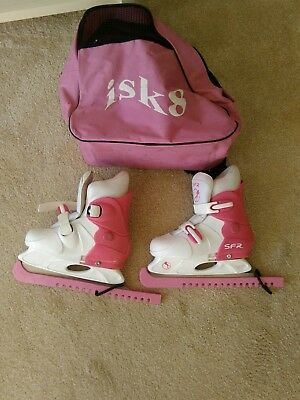 ISK ice skating boots girls 8_11