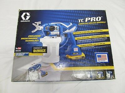 Graco TC Pro Cordless Airless Paint Sprayer Dewalt 17N166 Made in USA