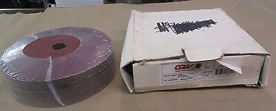 "Lot Of 25 Cgw Abrasives 48032 7"" X 7/8"" 36 Grit Ml0502 Resin Fibre Disc"