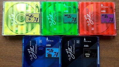AXIA MD JZ 74 minidisc,  made in japan, very rare!