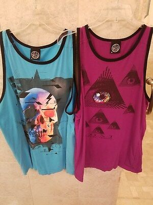 Lot of 13 mens tank tops Medium and Large sizes