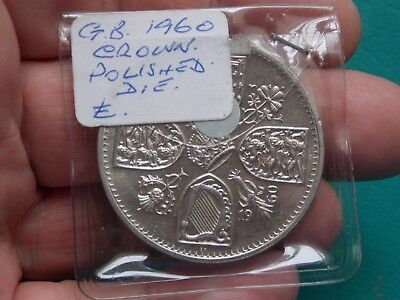 elizabeth five shillings 1960 polished die metal detecting detector finds