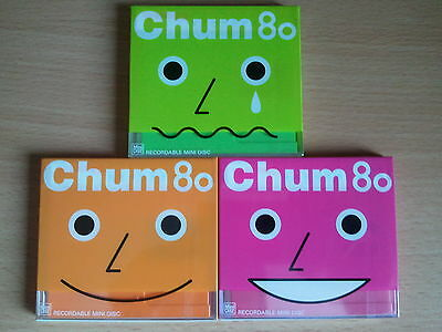 CHUM 80 minidisc, 3 color mix, made in japan, very rare!