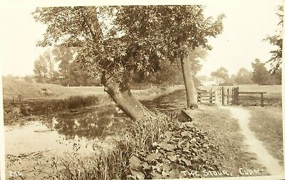 The River Stour At Stoke By Clare Suffolk Early Rp Pc