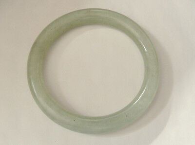 Fine Old Chinese Asian Jade Bangle Vintage Not New