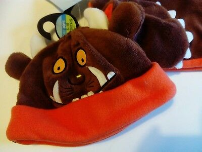 Brand new Marks and Spencer Gruffalo Hat, Scarf and Mittens set 6-18 months
