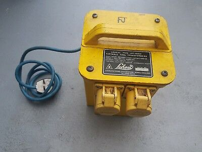 LIGHTWEIGHT 110v transformer