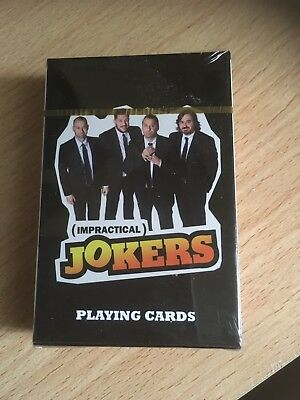 Impractical Jokers Playing Cards Brand New Sealed Rare