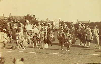 The Pageant At Southwold Suffolk 1911 Rp Pc