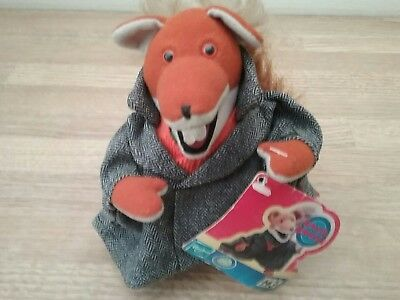 "Hasbro - Basil Brush  6"" - Soft Toy - 2001 with tags"