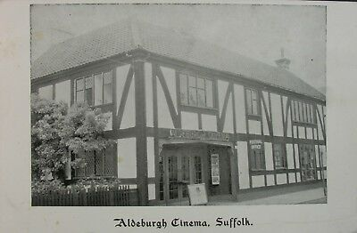 The Aldeburgh Cinema Suffolk Early Pb Pc