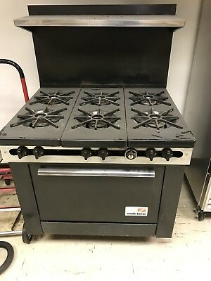 SOUTH BEND COMMERCIAL NAT. GAS Stove local pickup no shipping