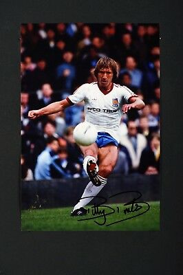 SALE BILLY BONDS WEST HAM HAND SIGNED PHOTO AUTHENTIC GENUINE + COA - 12x8