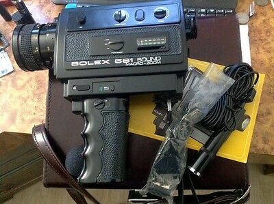 Bolex 551XL Sound Macro Zoom Super8 Sound Camera