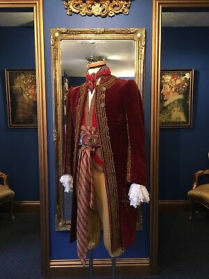 "Stunning Men's ""Pirate King""18th Century Style Court Coat, Fantastic Detailing!!"
