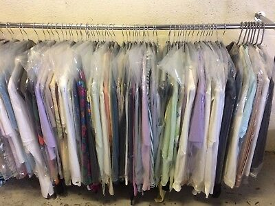 100 x Ladies Blouses,Hung,steamed & bagged ready to sell ~ Wholesale Joblot