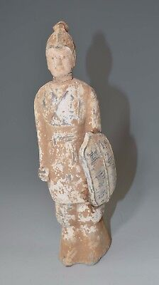 Rare Chinese Northern Wei dynasty Pottery Figure  Circa 386 - 534   China 中国古董