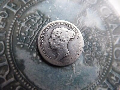 sixpence coin 1850 low grade