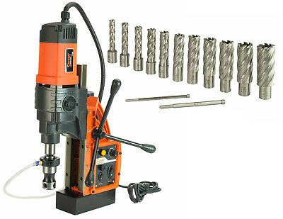 """Cayken KCY-48-2WDO 1.8"""" Magnetic Drill Press with 13PC 2"""" Annular Cutter Kit"""