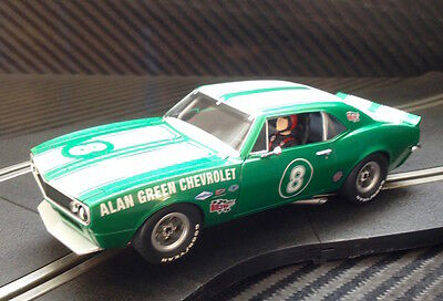 Pioneer Slot Car New Unboxed 1967 Chevy Camaro Z-28 'alan Green' - Paint Defect