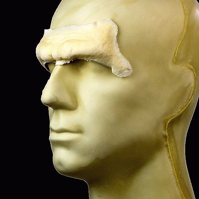 Rubber Wear Foam Latex Prosthetic - Caveman Forehead FRW-043 - Makeup FX