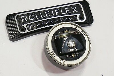 Rollei Light Meter Conversion set, fits Rolleiflex 2.8E, Wide Angle, Tele camera