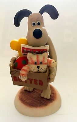 Robert Harrop Wallace & Gromit Gromit Leaving Home A Matter Of Loaf & Death Wg20