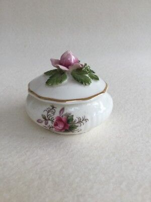Royal Albert Lavender Rose Trinket Box With Lid