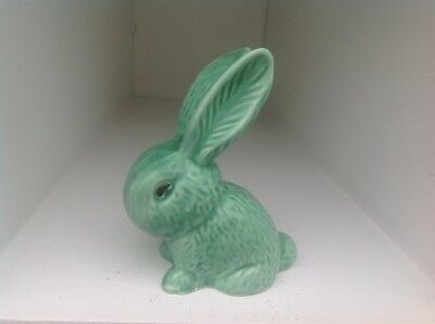 Sylvac small green bunny rabbit.1067