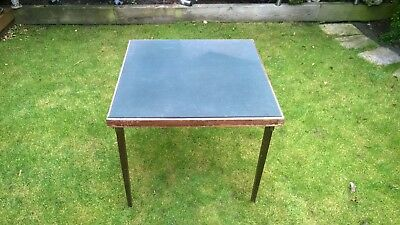 Vintage Folding Card Table By Vono c.60s/70s