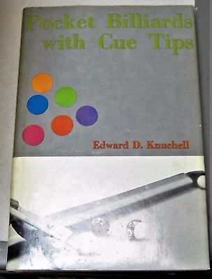 Pocket Billiards with Cue Tips by Edward D. Knuchell (1970, Hardcover)