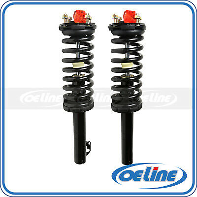 2x Complete Quick Front Struts Coil Springs Mounts For 05-10 Jeep Grand Cherokee