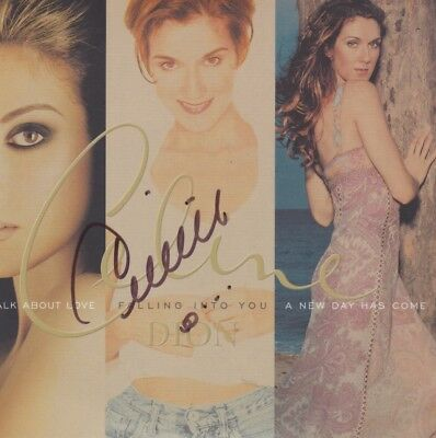 CELINE DION 3 in 1 Set Album Autogramm signed IN PERSON signiert Autograph