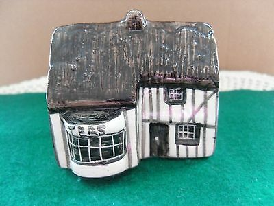 No 4 Tea Shop Tey Pottery Britain in Miniature Countryside Collection9#
