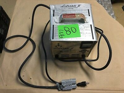 Lestronic II 36V automatic battery charger Golf Cart/Floor Sweeper/Forklift 20A