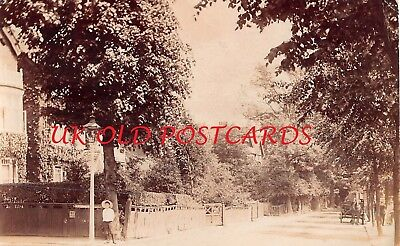 Kent -  BROMLEY,  Street Scene, Corner of Homefield Road, Real Photo used 1906