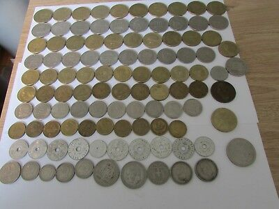 100 + Greece Coins    Uk Delivery Only