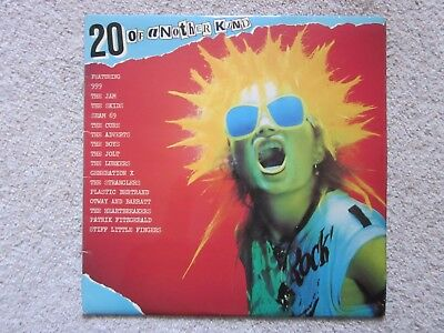 20 of Another Kind - punk compilation vinyl LP in VG Condition The Cure