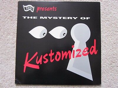 "Kustomised ""The Mystery of..."" vinyl LP in Ex Condition Mission of Burma"