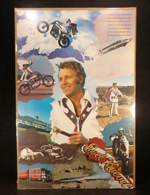 Evel Knievel Collage Poster 22X34 Vintage 1974 New Factory Sealed Minty Clean